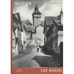 MERIAN Die Rhön 4/XVII April 1964