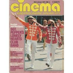 CINEMA 8/79 Januar 1979 - Beatles &  Bee Gees
