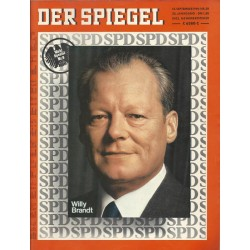 Der Spiegel Nr.38 / 15 September 1969 - Willy Brandt