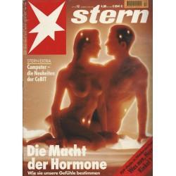 stern Heft Nr.12 / 17 März 1994 - Die Macht der Hormone