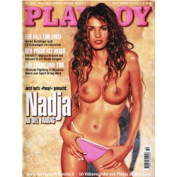 Playboy Nr.10 / Oktober 1999 - Nadja ab del Farrag