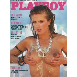 Playboy Nr.4 / April 1990 - Kirsten Imrie