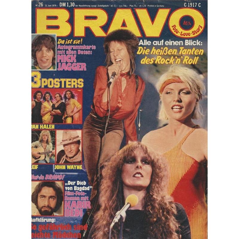 BRAVO Nr.26 / 21 Juni 1979 - Rockn Roll