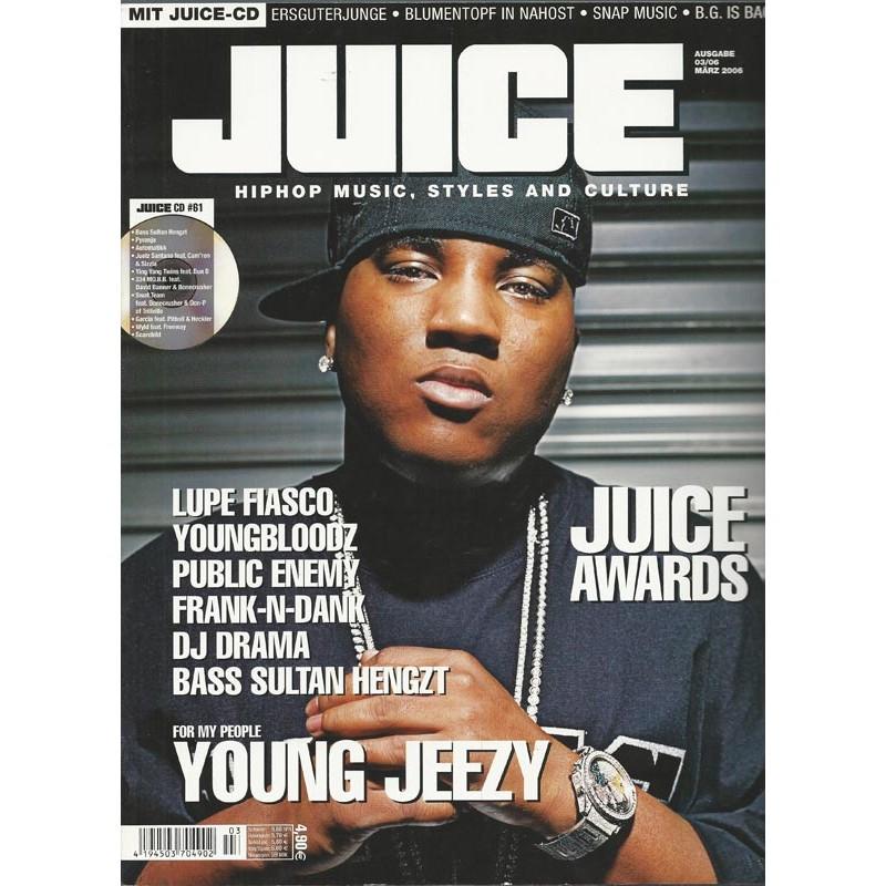 JUICE Nr.83 März / 2006 & CD 61 - Young Jeezy
