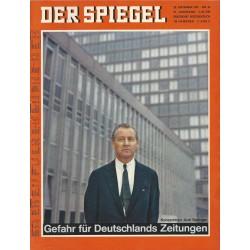 Der Spiegel Nr.40 / 25 September 1967 - Gefahr für Deutschlands Zeitungen