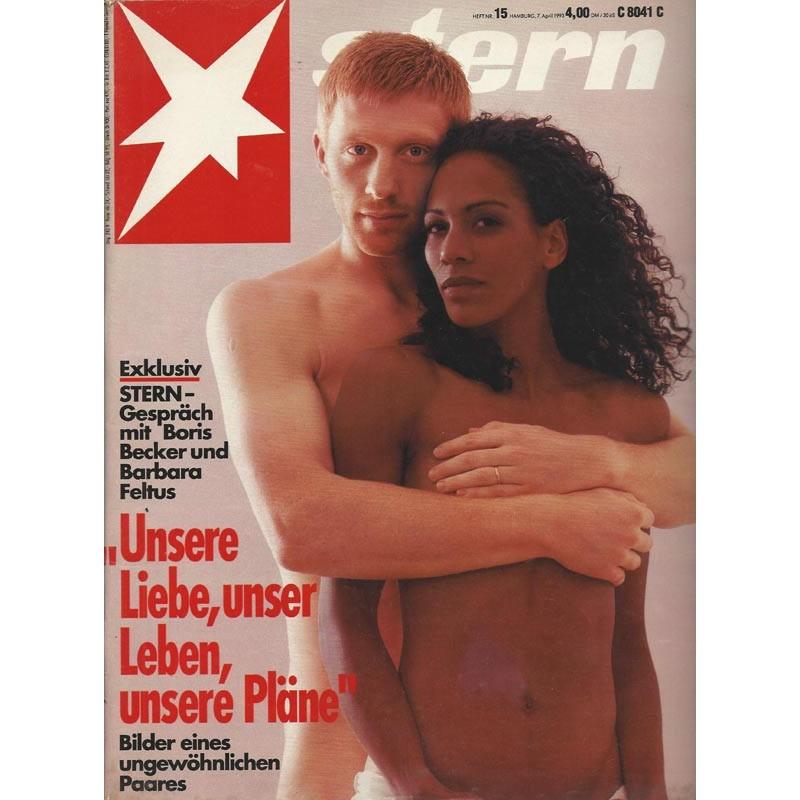 stern Heft Nr.15 / 7 April 1993 - Boris Becker & Barbara Feltus