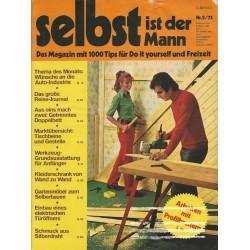 Selbst ist der Mann 2/75 Feb 1975 - Arbeiten mit Profilbrettern
