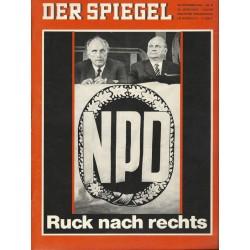 Der Spiegel Nr.49 / 28 November 1966 - NPD Ruck nach rechts