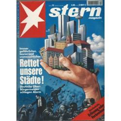 stern Heft Nr.13 / 24 März 1994 - Rettet unsere Städte!