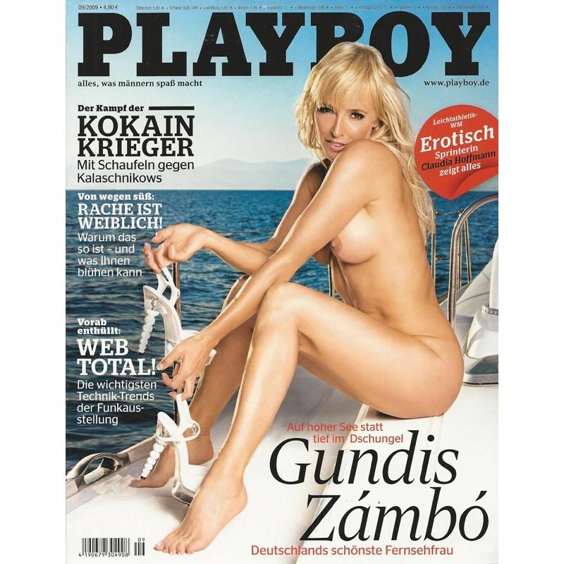 Playboy Nr.9 / September 2009 - Gundis Zambo