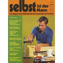 Selbst ist der Mann 1/75 Januar 1975 - Do it yourself Ratschläge