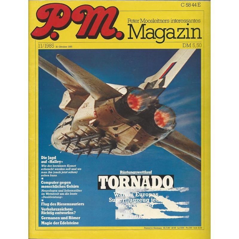 P.M. Ausgabe November 11/1985 - Rüstungswettlauf Tornado