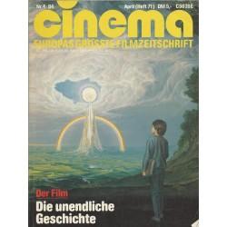 CINEMA 4/84 April 1984 - Die unendliche Geschichte