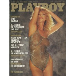 Playboy Nr.8 / August 1983 - Sybil Danning