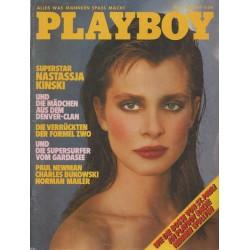 Playboy Nr.5 / Mai 1983 - Nastassja Kinski