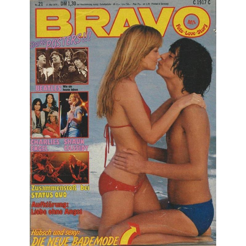 BRAVO Nr.21 / 17 Mai 1979 - Die neue Bademode