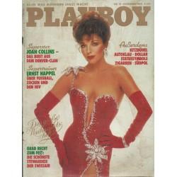Playboy Nr.12 / Dezember 1983 - Joan Collins
