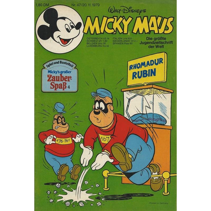 Micky Maus Nr. 47 / 20 November 1979 - Rhomadur Rubin