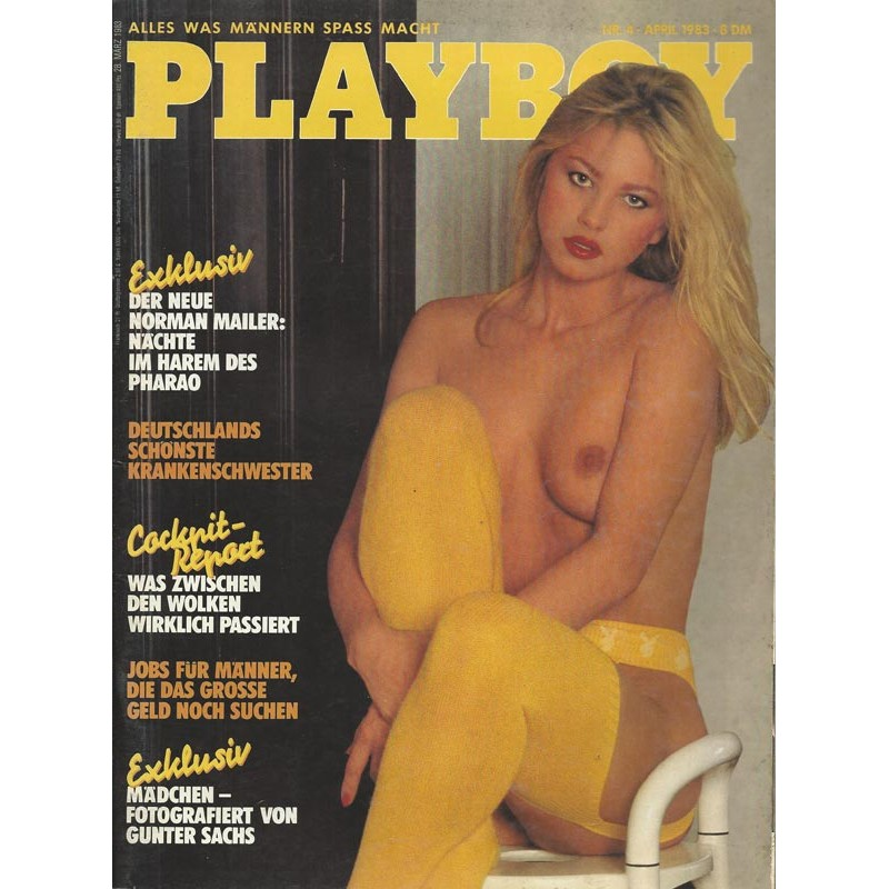 Playboy Nr.4 / April 1983 - Mädchen fotografiert
