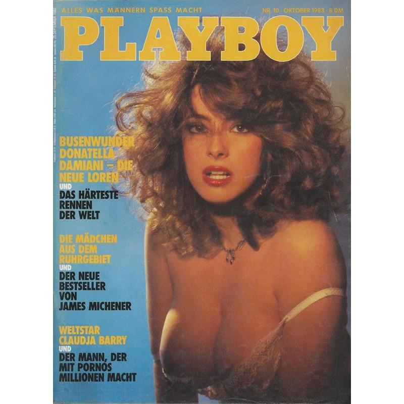 Playboy Nr.10 / Oktober 1983 - Donatella Damiani