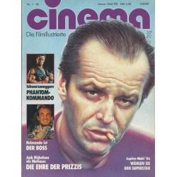 CINEMA 1/86 Januar 1986 - Jack Nicholson