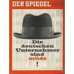 Der Spiegel Nr.23 / 30 Mai 1966 - Die deutschen Unternehmer sind müde!