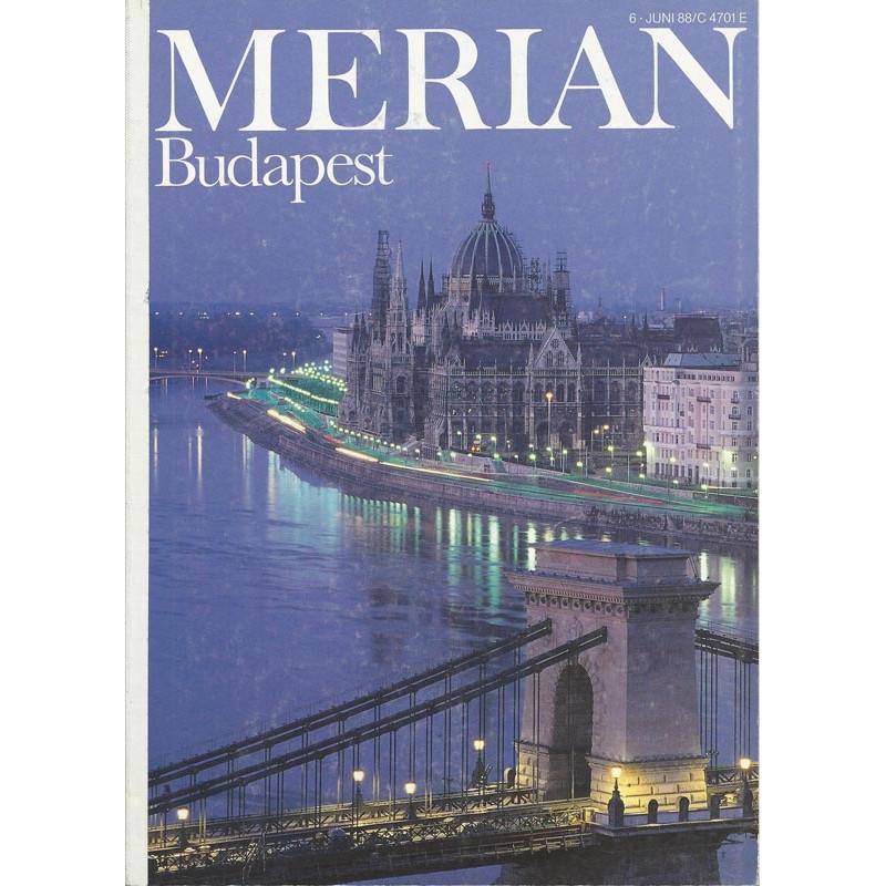 MERIAN Budapest 6/41 Juni 1988