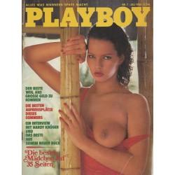 Playboy Nr.7 / Juli 1983 - Martina-Ines Jendretzke