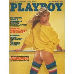 Playboy Nr.2 / Februar 1983 - Mädchen aus Paris