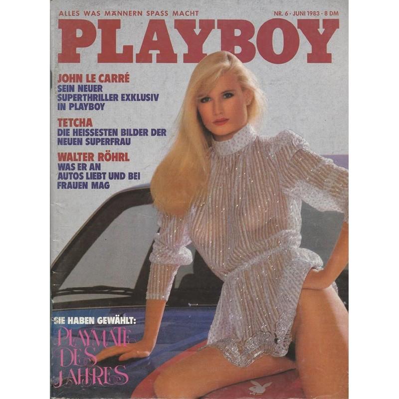 Playboy Nr.6 / Juni 1983 - Andrea Engel