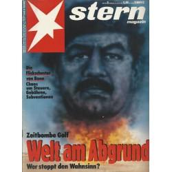 stern Heft Nr.3 / 10 Januar 1991 - Welt am Abgrund