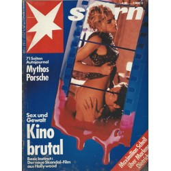 stern Heft Nr.21 / 14 Mai 1992 - Kino brutal