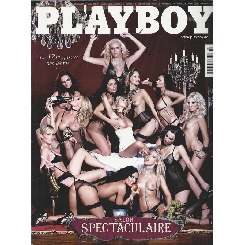 Playboy Nr.1 / Januar 2009 - Salon Spectaculaire