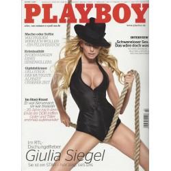 Playboy Nr.2 / Februar 2009 - Giulia Siegel