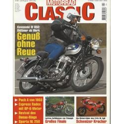 Motorrad Classic 4/99 - Juli/August 1999 - Genuß ohne Reue