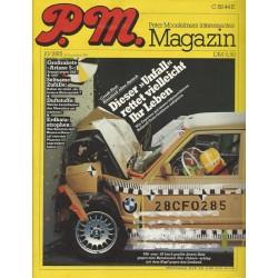 P.M. Ausgabe Oktober 10/1985 - Unfall rettet ihr Leben