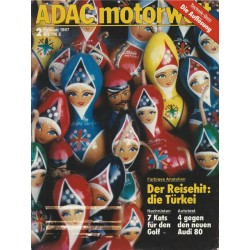 ADAC Motorwelt Heft.2 / Februar 1987 - Farbiges Anatolien