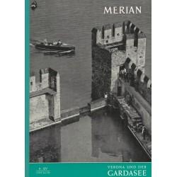 MERIAN Verona und der Gardasee 9/XV September 1962