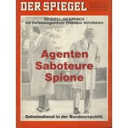 Der Spiegel Nr.25 / 13 Juni 1966 - Agenten, Saboteure, Spione