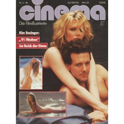 CINEMA 4/86 April 1986 - 9 1/2 Wochen