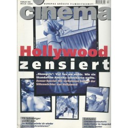 CINEMA 2/96 Februar 1996 - Hollywood zensiert