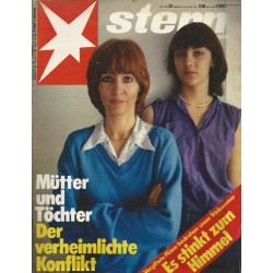 stern Heft Nr.33 / 9 August 1979 - Der verheimlichte Konflikt