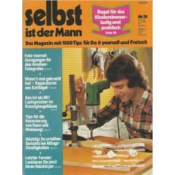 Selbst ist der Mann 10/75 Oktober 1975 - Regal fürs Kinderzimmer