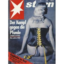 stern Heft Nr.10 / 4 März 1993 - Der Kampf gegen die Pfunde