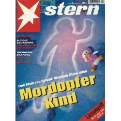 stern Heft Nr.25 / 16 Juni 1994 - Mordopfer Kind