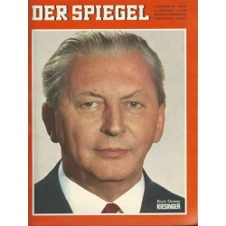 Der Spiegel Nr.50 / 5 Dezember 1966 - Kurt Georg Kiesinger