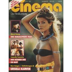 CINEMA 6/86 Juni 1986 - Ursula Karven