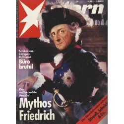 stern Heft Nr.34 / 15 August 1991 - Mythos Friedrich