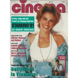 CINEMA 1/91 Januar 1991 - Pretty Julia