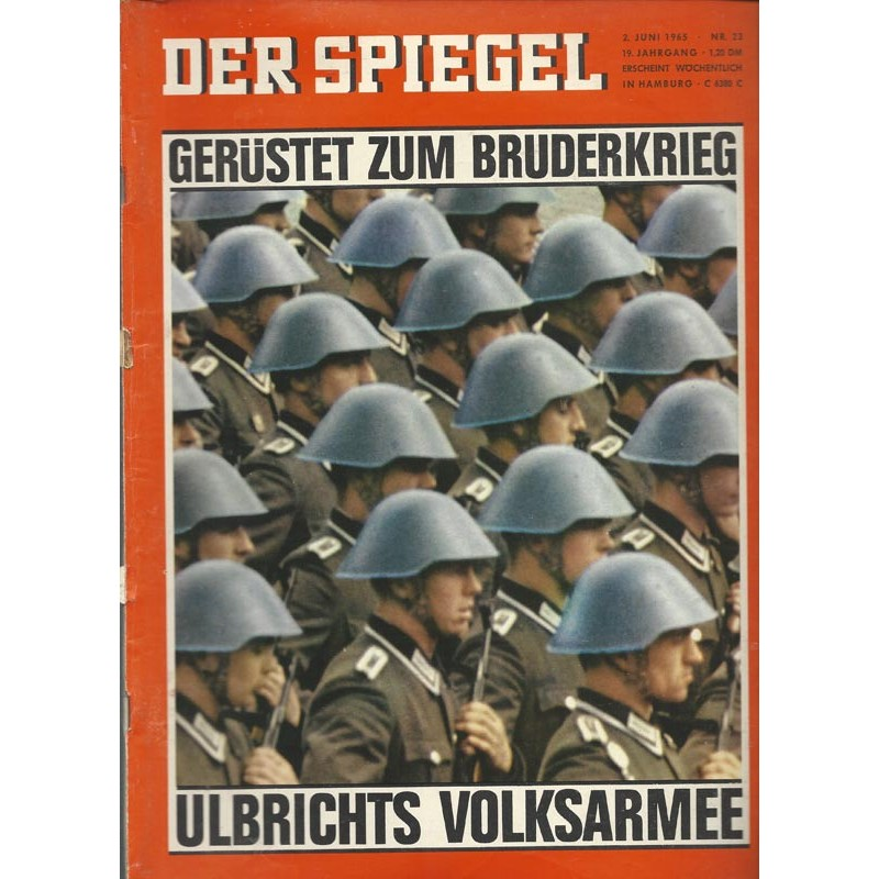 Der Spiegel Nr.23 / 2 Juni 1965 - Gerüstet zum Bruderkrieg